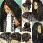 Indian Virgin Human Hair Curly Lace Front Wig Pre Plucked Full Lace Baby Hair s4