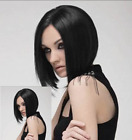 New Lady Fashion Short Straight BOBO Brown/Black Cosplay Sexy Full Synthetic Wig