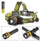 8000lm XM-L T6 LED 3in1 Zoomable Headlamp Headlight Flashlight Bicycle Light TR