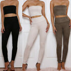Slim High Waisted Skinny Pencil Stretch Pants Trousers Leggings Women's New Usa