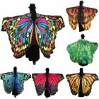 Fashion Style Soft Butterfly Wing Cape Scarf Fairy Costume Shawl for Women USA