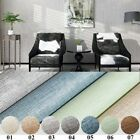 Modern Minimalist Solid Color Linen Vertical Striped Wallpaper Self-adhesive