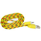 ZOOMY 3FT Braided USB Charger Cable Sync Cord For iPhone 5 5S 5C 6 6S 7 Plus LOT