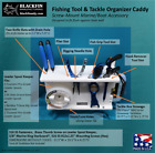 FISHING TOOL HOLDER & TACKLE / LEADER ORGANIZER CADDY - MARINE BOAT ORGANIZER