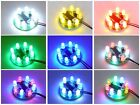 UFO LED Chaser Beacon Sequencer Light Flash Show - 8x 5mm LEDs - 16 programs