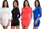 Hit ! Beautiful ღ Elegant Lace Dress with Zircons Tunic Style Bodycon Mini ღ 301