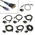 V1.4 Cable HDMI + DVI Adapter HD 3D For PS3 Xbox HDTV 0.5-15M Meters 1080P LOT