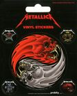 Metallica Sticker Set Sticker Pack 10x12.5cm