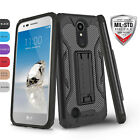 FOR [LG REBEL 2 LTE] PHONE CASE [VIPER SERIES] SHOCKPROOF HYBRID DEFENDER COVER