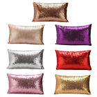 Home Sequins Cushion Glitter Cover Throw Pillow Case Decoration 30*50cm 7 Color image