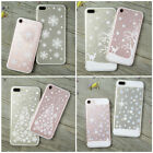 Cute Soft Silicone Christmas Pattern Phone Case Cover For iPhone 6 6s 7 7 Plus X