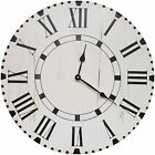 August Grove Oversized Goldberger Farmhouse Wall Clock