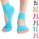1 Pairs Yoga Socks,Barre Socks,Pilates Sock Toeless Non Slip Skid Grip For Women