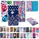 For Asus ZenFone 4 Selfie ZB553KL Wallet Bag Flip Case Cover Wings Tower Insect