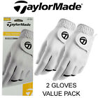 TAYLORMADE ALL WEATHER 2 GOLF GLOVE VALUE PACK MENS NEW 2017