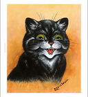 """LOUIS WILLIAM WAIN """"The Contented Cat"""" cartoON CANVAS or PAPER various SIZES"""