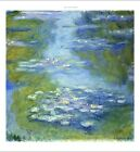 "CLAUDE MONET ""Water Lilies"" Art CANVAS, PAPER choose SIZE, from 55cm up, NEW"