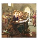 "J HARRIS ""In Classroom"" Children CANVAS OR PAPER NEW various SIZES available"
