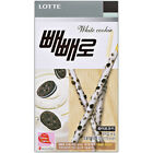 LOTTE Pepero White Cookie Flavor 1,2,3,5pack Korean Snack Thin Stick Genuine
