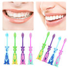 Newest Suction Stand up Soft Bristles Cartoon Toothbrush Kids Toddler Oral Care