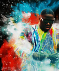 """Music Singer The Notorious B.I.G.Biggie Christopher Wallace Art Poster 32x24"""""""