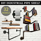 Внешний вид - Industrial Retro Wall Pipe Shelf Shelves Storage Hanging Holder DIY Home Decor