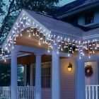 String Lights White LED Garden Party Christmas Outdoor Indoor Battery Mains Cool