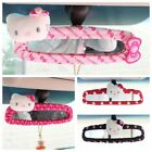 Hello Kitty Black Bow Car Rear Mirror Pink Red Cover Car Interior Accessories