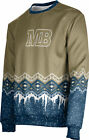 Unisex California State University Monterey Bay Ugly Holiday Frost Sweater