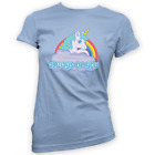 Always Be You Womens T-Shirt -x14 Colours- Gift Present Funny Movie Unicorn Prop