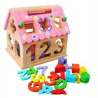 Early Learning Baby Building Blocks/Jigsaw Puzzles Mathematics Wooden Toys Gift