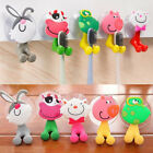 Newest 3D Cartoon Animal Cute Sucker Toothbrush Wall Holder Suction Cup Bathroom