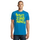 509 FZN Block T-Shirt Snowmobile Snocross Motocross Short Sleeve Tee