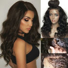 360 Lace Frontal 100% Human Hair Wig Body Wavy Pre Plucked Full Lace Wigs Long Y