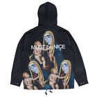"RIPNDIP ""Madonna"" Jacket (Black) Men's Button Up Must Be Nice Hood Windbreaker"