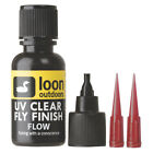 Loon Outdoors UV Instant Curing Clear Fly Tying Finish (Choose Size & Thickness)