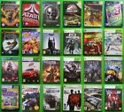 SELECTION OF ORIGINAL XBOX and XBOX 360 GAMES -  YOU CHOOSE