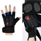 Unisex Weightlifting Training Sport Fitness Gloves Wrist Wraps Exercise Supplies