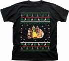 Greggs Nativity Christmas Sausage rolls funny printed t-shirt TC9200