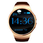 Waterproof KW18 Bluetooth Smart Watch Phone Mate SIM GSM for Samsung iPhone X LG