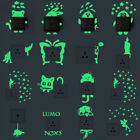 New Luminous Cartoon DIY Switch Sticker Wall Sticker Decoration Fluorescent 1pc
