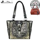 Montana West Buckle Collection Concealed Handgun Trapezoid Tote