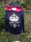 horse riding   HOODIE hoody keep calm and trot on