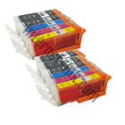 Compatible Ink Cartridges to Replace Canon PGI550 CLI551 Inks