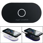 Wireless Charger Fast Charging Dock Pad For iPhone X/8/8 Plus/Samsung Galaxy S8