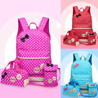 Women Backpack Girl Kid Cute School Shoulder Bag Rucksack Casual Travel Bookbag~