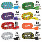 Zoomy 10ft Braided 30 Pin Usb Sync Data Cable Charger For Iphone 4 4s 3gs Lot