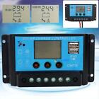 10A-20A LCD 12-24V PWM Solar Power Controller Regulator Charger Battery & USB BE