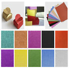 A4 Glitter Card 10 sheets From Dovecraft 250gsm 11 Colours Party Invitations