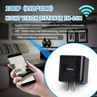 HOTSALE HD Wifi Led Night Vision Light Spy Hidden Camera Adapter AC Wall Charger